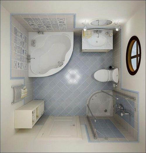ванная комната 5 кв м дизайн фото 5